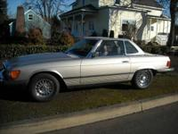 1985 Mercedes 380 SL for sale (OR) - $13,900. '85