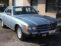 1985 Mercedes 380SL convertible in good overall