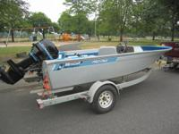 This 1985 Mirrocraft Boats Pro-Pike is in great running