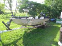 I have a 1985 16 ft Monark fishing boat fantastic boat