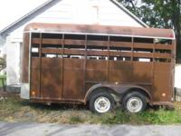 1985 Moritz Super Goose Trailer Approximately 13' long