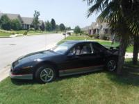 1985 Pontiac Fiero GT for sale V6 4speed manual on the