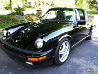 1985 Porsche 911 Carrera Targa, with the most desirable