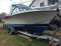 1985 Rampage Flush Deck Boat is located in South