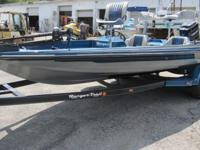 1985 Ranger 371-V Bass Boat powered by a 150hp Mercury