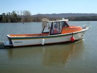"1985 Sermons Boat Yard 29 ft. industrial ""lobster"