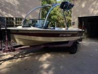 18 ft. ski nautique, winterized every year and stored