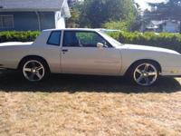 This is a nice 85 Chevy SS Monte Carlo. It has the