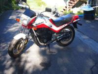 1985 Suzuki GS550E 7,100 mi. Great condition and garage