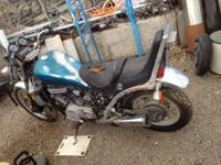 1985 SUZUKI MADURA GL700 MOTORCYCLE, V4, SHAFT DRIVE,
