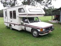 1985 TOYOTA MOTORHOME (Savannah edition) 21ft. 22R
