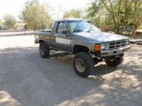 1985 Toyota xtra cab 4x4 5sp 22re leaks a little oil