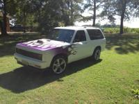 I have a 1985 v8 2 wheel drive S-10 Chevy blazer. This