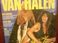 1985 Van Halen Book; very collectible, only published