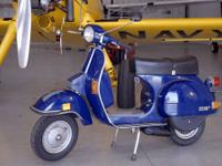 For your consideration I am selling a 1985 Vespa