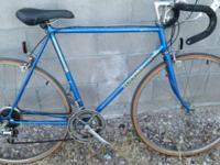 Vintage road bike for sale. Pick up/ meeting locations