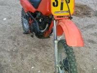 1985 Honda xr80 very nice runs new and strong tires and