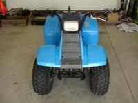 "This is a 1985 Yamaha Badger 80 ATV ""Green Sticker"""
