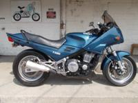 This is a 1985 Yamaha FJ1100 with clear title and runs