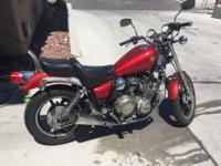 1985 Yamaha XJ700 Maxim. Has a new starter, air filter,