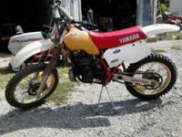 1985 yz490 $800.00 terrific condition, after market.