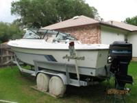 1985 Aquasport Sandpiper 22.5 Deep V Second owner