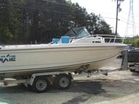 We are marketing a Nice 23ft Blue Fin (Dixie) boat that