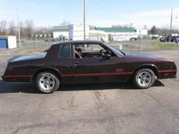 1985 Chevy Monte Carlo SS (True SS) 305 4-barrel 82,000