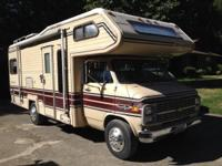 1985 Shasta Freedom Series M-24MH. This is a Chevrolet