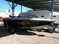 Open Bow, Bimini Top, 140 Merc & Alpha Drive, Swim