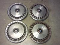 "Set of four 14"" hubcaps wheel covers for sale  In good"