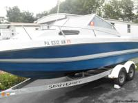 1986 21' Citation B w/cuddy cabin BOAT FOR SALE -