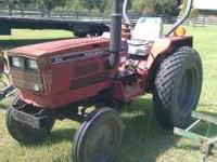 1986 254 International, 3 cyl diesel. Equipment