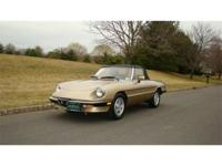 1986 ALFA ROMEO SPIDER VELOCE FOR SALE - GLADSTONE, NJ