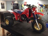 Completely restored 1986 250R. Every piece to this bike