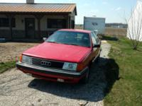 1989 Audi 100 Quattro 5cyl. 5spd. AWD Heated leather