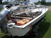 For sale is a 1986 Boston Whaler 15?3 Super Sport.