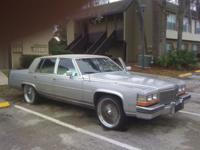 Nice, tidy 1986 Cadillac Fleetwood Brougham for sale. I