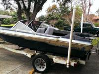 1986 17 ft Checkmate boat and trailer. No motor. Boat &