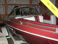 1986 16' CHECKMATE Diplomat open bow classic boat. No