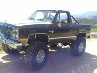 1986 Chevrolet Blazer K5 Classic Truck Chevy 454