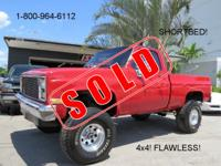 1986 CHEVROLET K10 4X4! SHOW TRUCK! LIFTED! FLAWLESS!