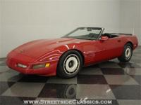 This 1986 Corvette roadster captures everything thats