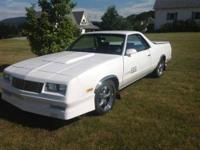 1986 Chevrolet El Camino This is one of a kind Equipped