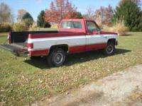 1986 chevy 4x4 single cab long bed, Auto trans $ 3,000