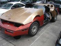 1986 Chevy Corvette Parts - Come and get them - These