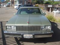 1986 Chevy El Camino. Great body, good interior, Good