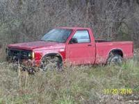 Hard to find, Chevy S10 with Baha package. 4x4, NO