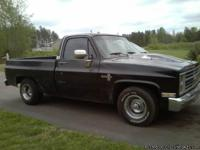 1986 chevy shortbed truck. 5000 miles approx on new