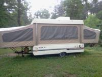 Nice camper in great condition has stove, sink,